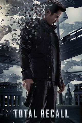Poster of Total Recall 2012 Full Hindi Dual Audio Movie Download BluRay Hd 720p
