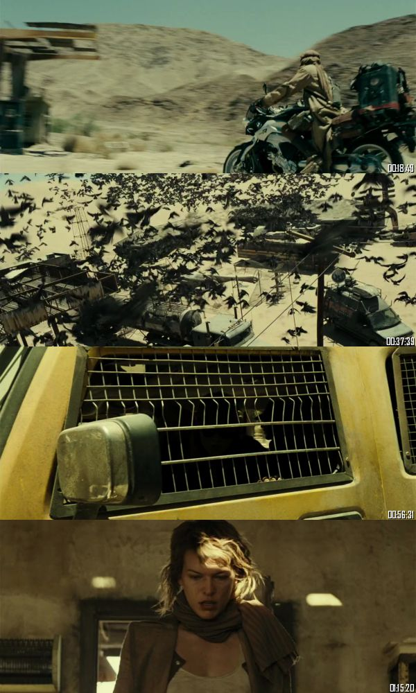 Resident Evil Extinction 2007 BRRip 720p 480p Dual Audio Hindi English Full Movie Download