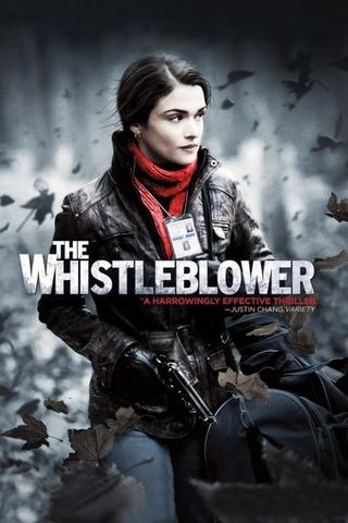 Poster of The Whistleblower 2010 Full Hindi Dual Audio Movie Download BluRay Hd 720p