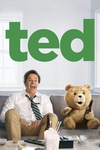 Poster of Ted 2012 Full Hindi Dual Audio Movie Download BluRay Hd 720p