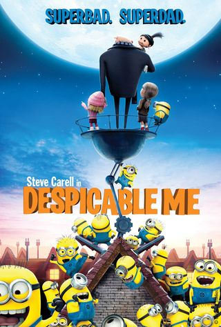 Poster of Despicable Me 2010 Full Hindi Dual Audio Movie Download BluRay Hd 720p