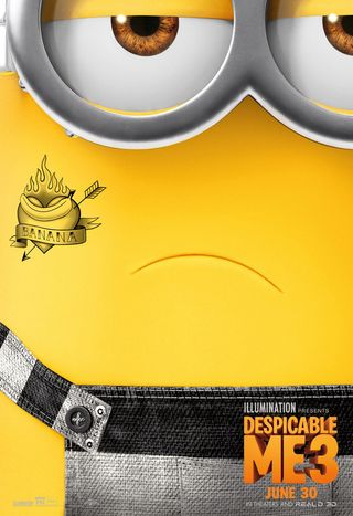 Poster of Despicable Me 3 2017 Full Hindi Dual Audio Movie Download BluRay Hd 720p