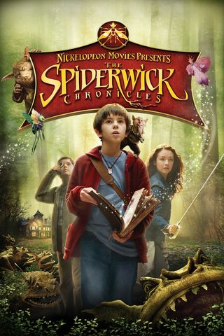 Poster of The Spiderwick Chronicles 2008 Full Hindi Dual Audio Movie Download BluRay Hd 720p