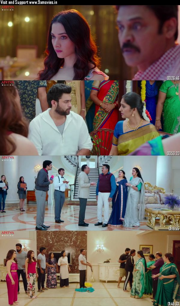 F2 Fun and Frustration 2019 Hindi Dubbed 720p HDRip 1GB