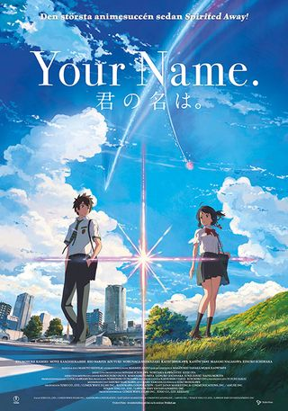 Poster of Your Name 2016 Full Hindi Dual Audio Movie Download BluRay Hd 720p