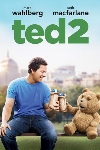 Poster of Ted 2 2015 Full Hindi Dual Audio Movie Download BluRay Hd 720p