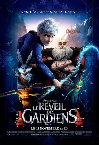 Poster of Rise of the Guardians 2012 Full Hindi Dual Audio Movie Download BluRay Hd 720p