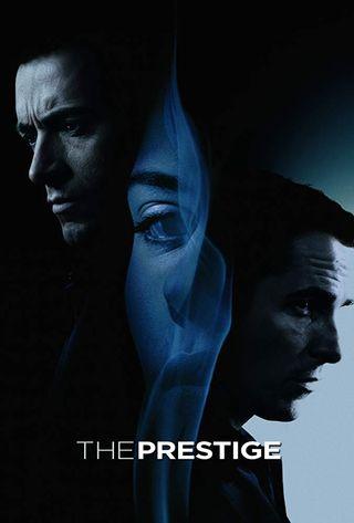 Poster of The Prestige 2006 Full Hindi Dual Audio Movie Download BluRay Hd 720p