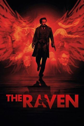 Poster of The Raven 2012 Full Hindi Dual Audio Movie Download BluRay Hd 720p