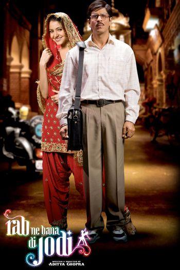 Poster of Rab Ne Bana Di Jodi 2008 Full Hindi Free Download Watch Online In HD Movie Download 480p BluRay