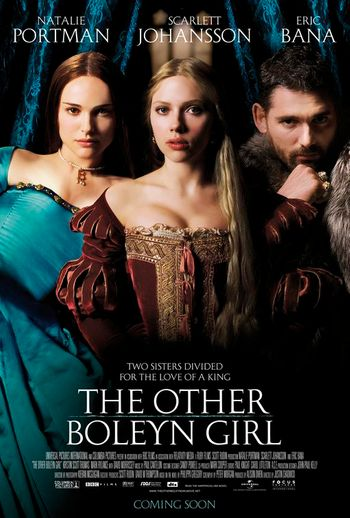 Poster of The Other Boleyn Girl 2008 Full Hindi Dual Audio Movie Download BluRay Hd 480p
