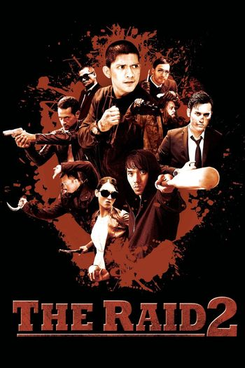 Poster of The Raid 2 2014 Full Hindi Dual Audio Movie Download BluRay Hd 720p