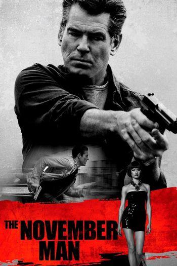 Poster of The November Man 2014 Full Hindi Dual Audio Movie Download BluRay Hd 720p