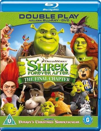 Shrek Forever After 2010 Dual Audio Hindi 720p BluRay 650mb