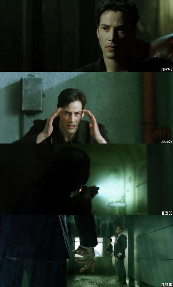 The Matrix 1999 BRRip 720p 480p Dual Audio Hindi English Full Movie Download