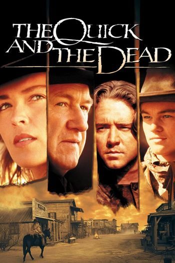 Poster of The Quick and the Dead 1995 Full Hindi Dual Audio Movie Download BluRay Hd 720p