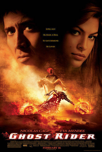 Ghost Rider 2007 Dual Audio Hindi English BRRip 720p 480p Movie Download