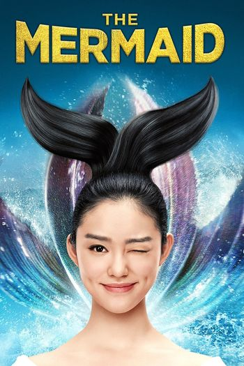 Poster of The Mermaid 2016 Full Hindi Dual Audio Movie Download BluRay Hd 480p