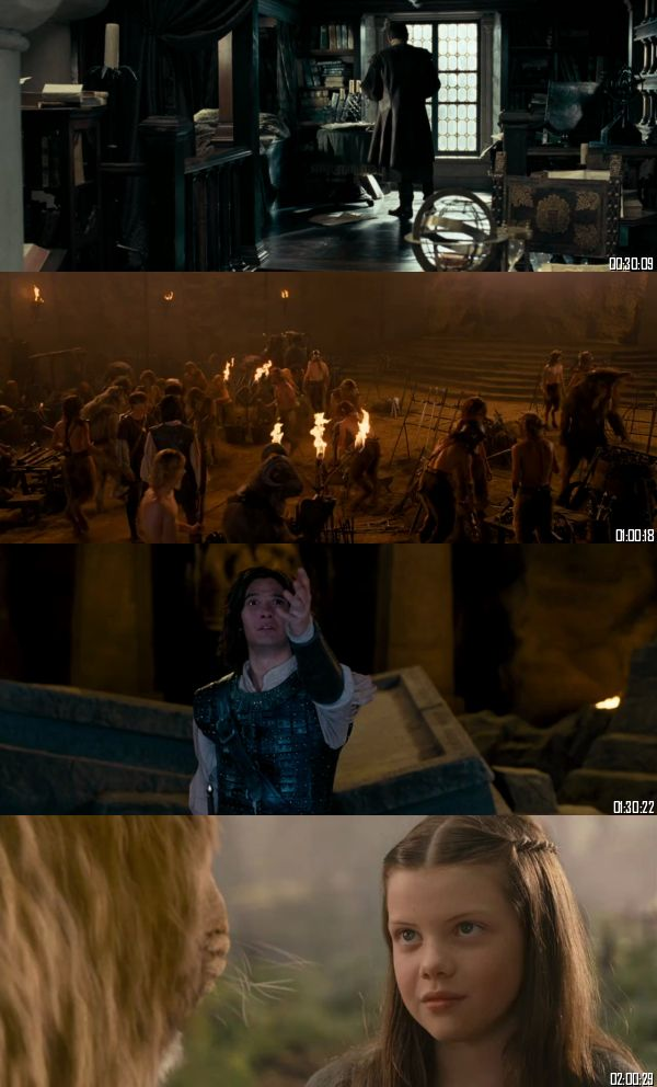The Chronicles Of Narnia - Prince Caspian 2008 BRRip 720p 480p Dual Audio Hindi English Full Movie Download