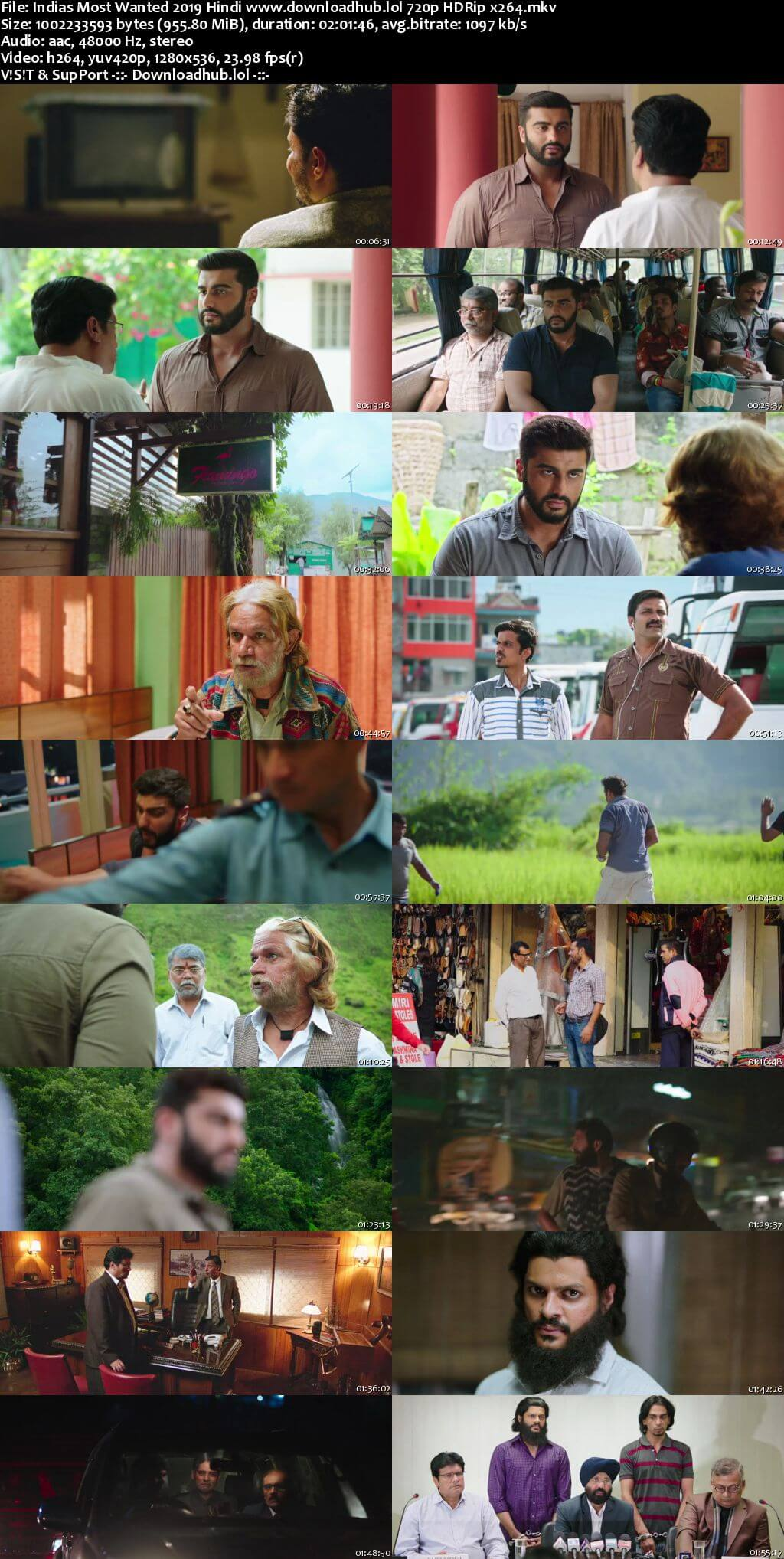 Indias Most Wanted 2019 Hindi 720p HDRip x264