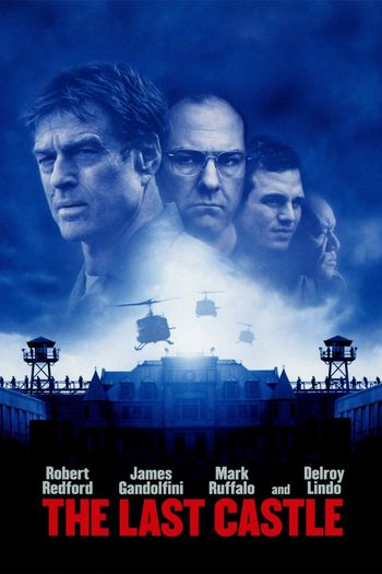 Poster of The Last Castle 2001 Full Hindi Dual Audio Movie Download BluRay Hd 720p