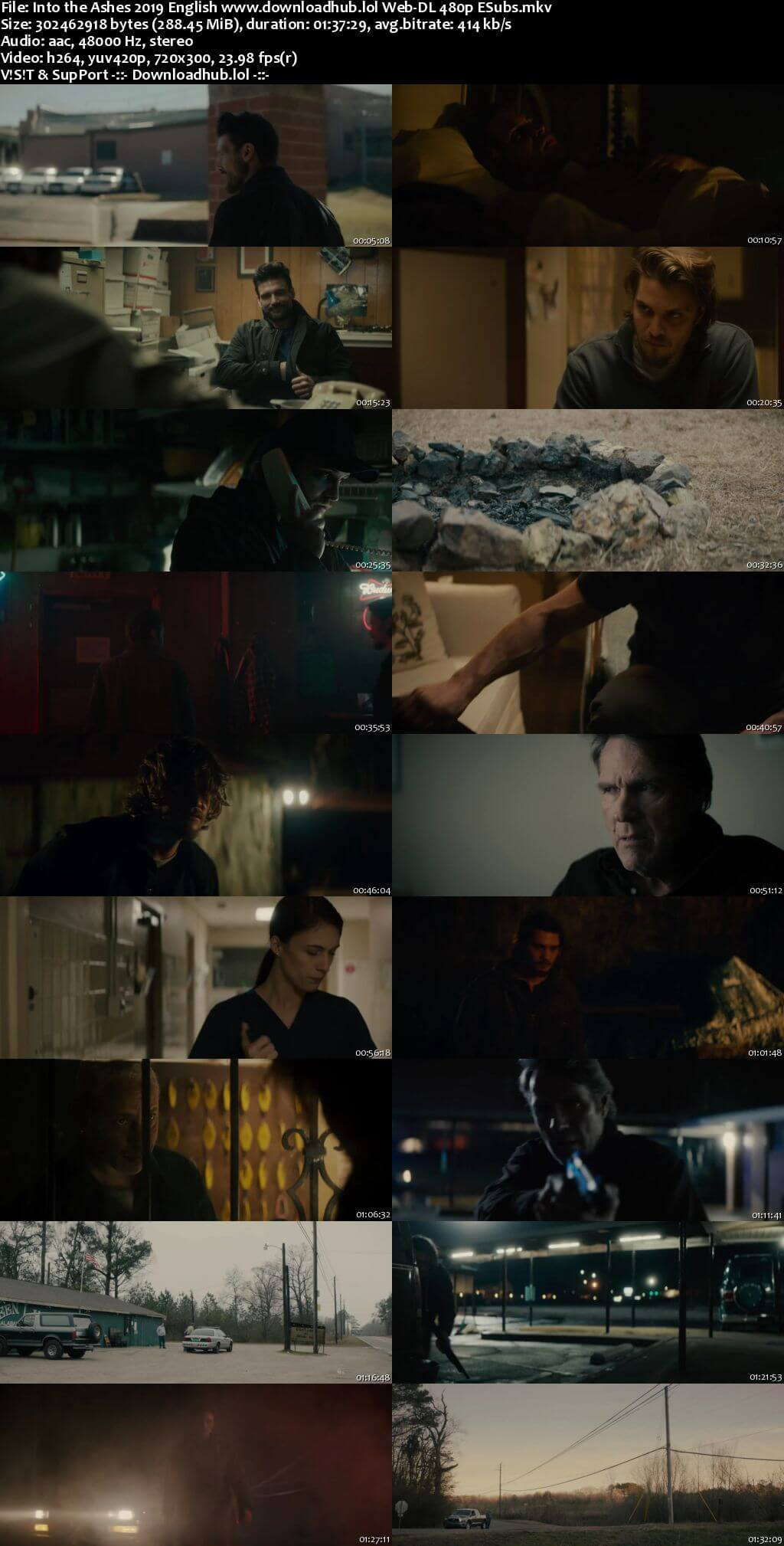 Into the Ashes 2019 English 280MB Web-DL 480p ESubs