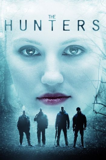 Poster of The Hunters 2011 Full Hindi Dual Audio Movie Download BluRay Hd 480p