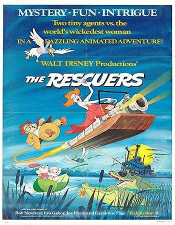 The Rescuers 1977 Hindi Dual Audio 250MB BluRay 480p ESubs