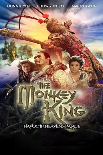 Poster of The Monkey King 2014 Full Hindi Dual Audio Movie Download BluRay Hd 720p