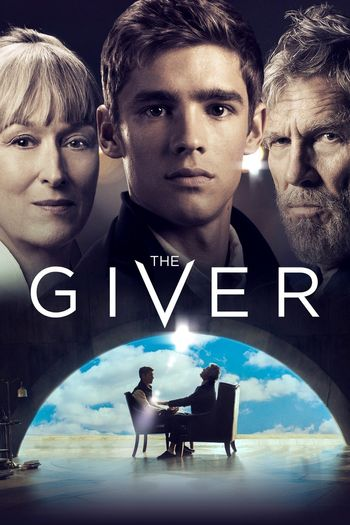 Poster of The Giver 2014 Full Hindi Dual Audio Movie Download BluRay Hd 720p