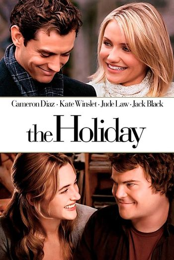 Poster of The Holiday 2006 Full Hindi Dual Audio Movie Download BluRay Hd 480p