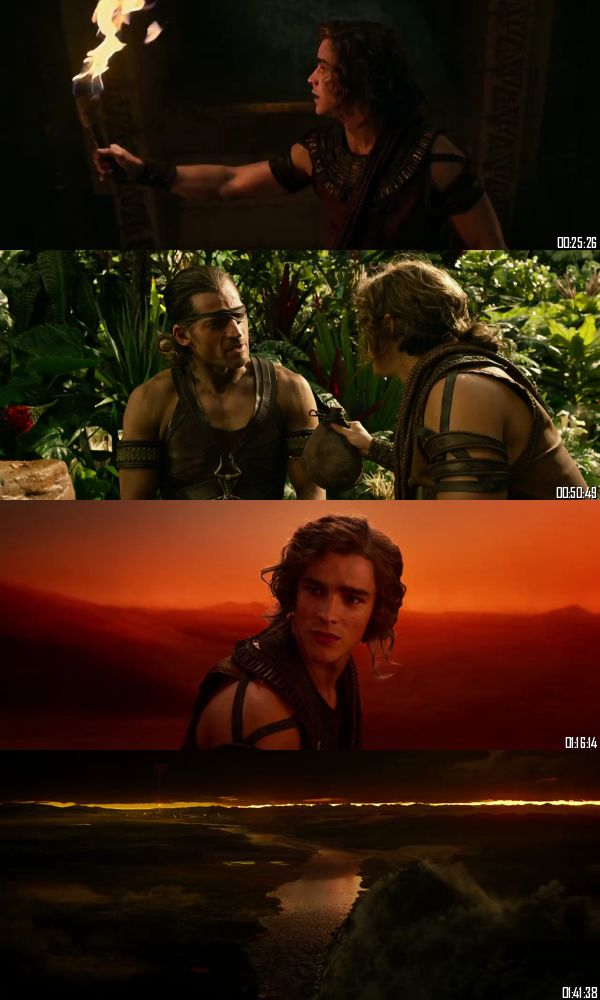 Gods of Egypt 2016 BRRip 720p 480p Dual Audio Hindi English Full Movie Download