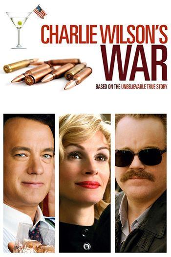 Poster of Charlie Wilson's War 2007 Full Hindi Dual Audio Movie Download BluRay Hd 720p