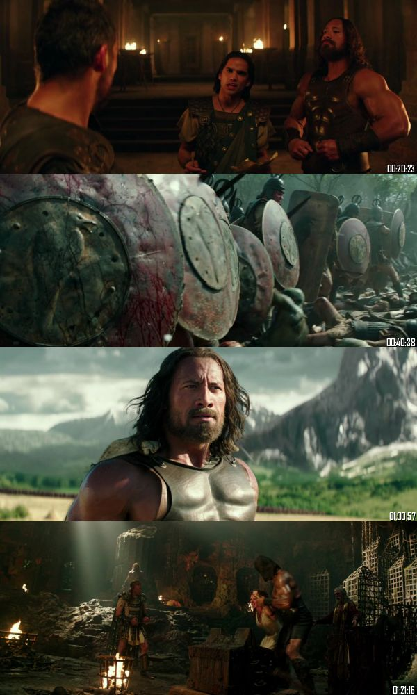 Hercules 2014 BRRip 720p 480p Dual Audio Hindi English Full Movie Download
