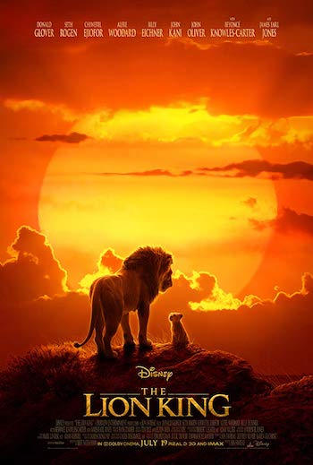 The Lion King 2019 Dual Audio Hindi 720p HDCAM 990mb