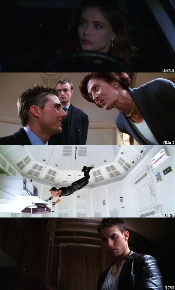 Mission Impossible 1996 BRRip 720p 480p Dual Audio Hindi English Full Movie Download