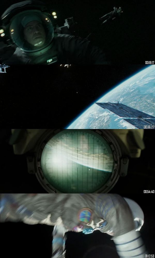 Gravity 2013 BRRip 720p 480p Dual Audio Hindi English Full Movie Download