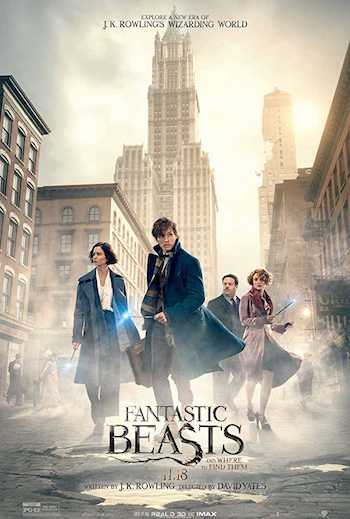 Fantastic Beasts And Where To Find Them 2016 Dual Audio Hindi English BluRay 720p Movie Download