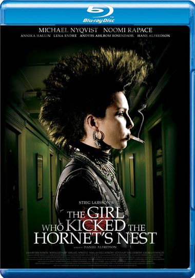 Poster of The Girl Who Kicked the Hornets' Nest 2009 Full Hindi Dual Audio Movie Download BluRay Hd 720p