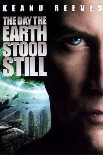Poster of The Day the Earth Stood Still 2008 Full Hindi Dual Audio Movie Download BluRay Hd 720p