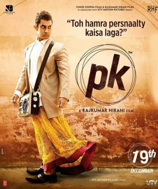 PK (2014) Hindi 720p BluRay 700MB
