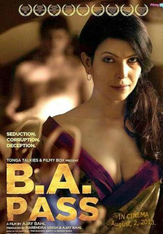 B.A. Pass (2013) Hindi Movie DVDRip 420p 250MB