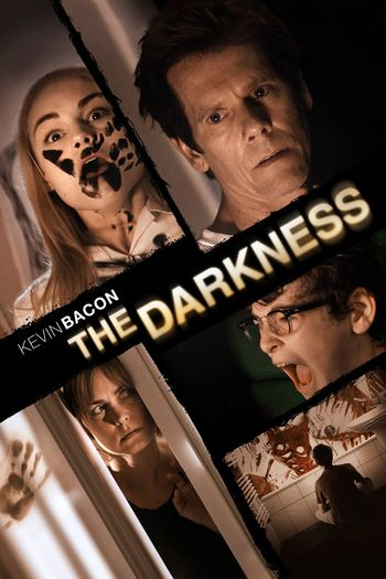 Poster of The Darkness 2016 Full Hindi Dual Audio Movie Download BluRay Hd 480p