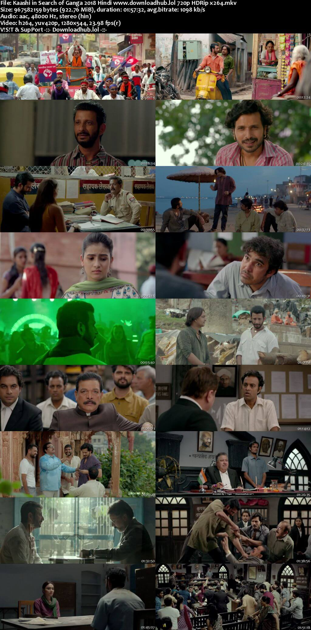 Kaashi in Search of Ganga 2018 Hindi 720p HDRip x264
