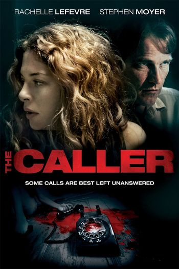 Poster of The Caller 2011 Full Hindi Dual Audio Movie Download BluRay Hd 720p