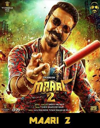 Maari 2 2018 UNCUT Hindi Dual Audio HDRip Full Movie 720p HEVC Download