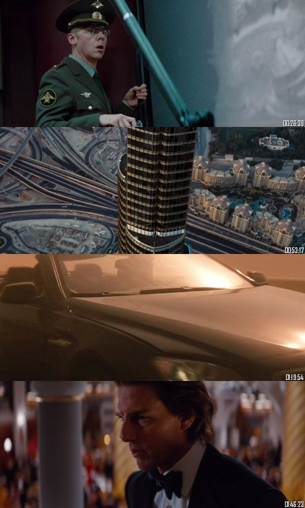 Mission Impossible Ghost Protocol 2011 BRRip 720p 480p Dual Audio Hindi English Full Movie Download