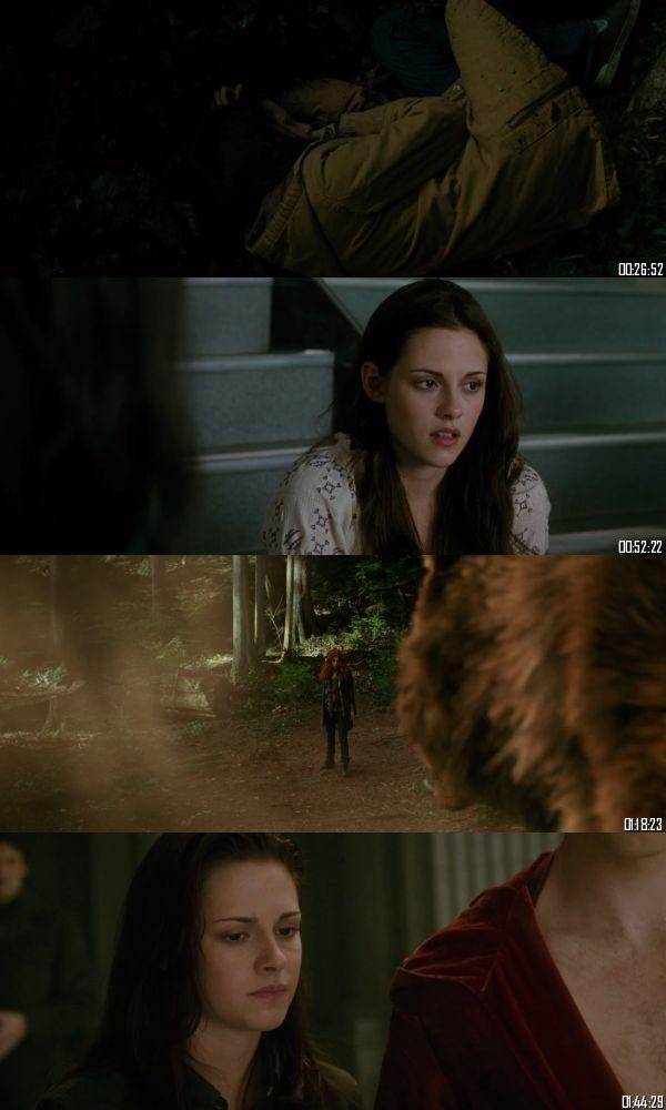The Twilight Saga New Moon 2009 BRRip 720p 480p Dual Audio Hindi English Full Movie Download
