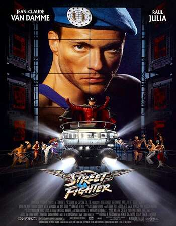 Street Fighter 1994 Hindi Dual Audio BRRip Full Movie 720p Download