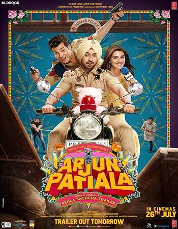 Arjun Patiala 2019 Full Hindi Movie 300mb HDRip Download